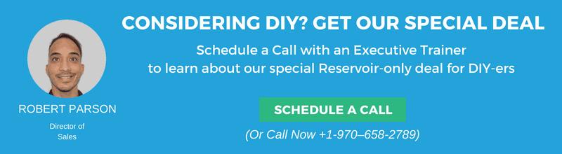 DIY reservoir offer