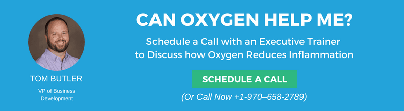 oxygen for inflammation speak to an expert